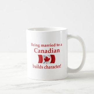 Canadian Builds Character Basic White Mug
