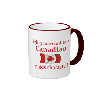 Canadian Builds Character Mugs