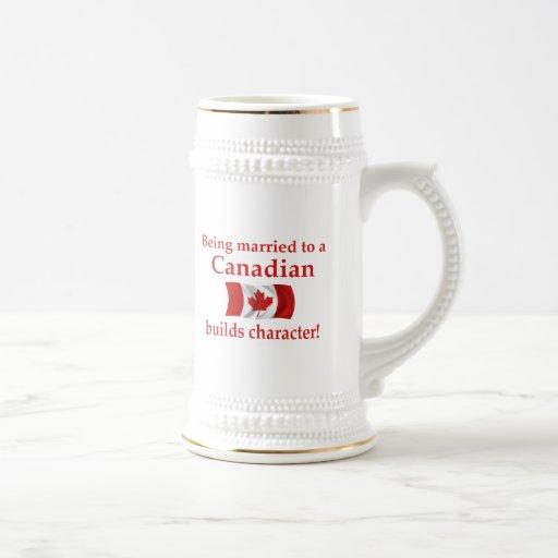 Canadian Builds Character Mug