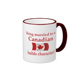 Canadian Builds Character Ringer Mug