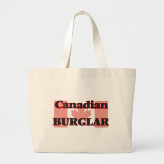 Canadian Burglar Jumbo Tote Bag