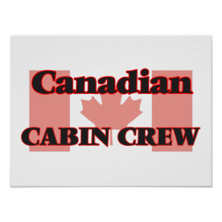 Canadian Cabin Crew Poster
