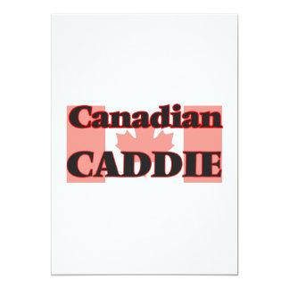 Canadian Caddie 13 Cm X 18 Cm Invitation Card
