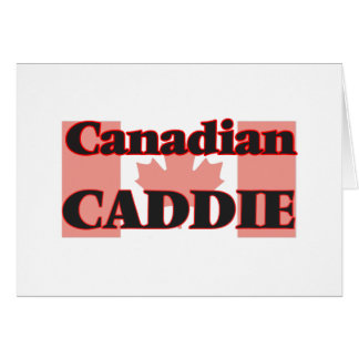 Canadian Caddie Greeting Card