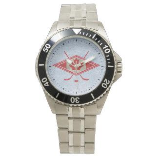 Canadian Canada Hockey Logo Watch, style choice Watch