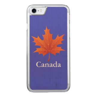 Canadian Carved iPhone 7 Case