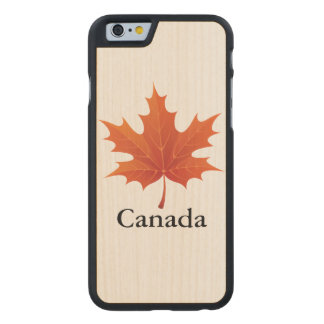 Canadian Carved® Maple iPhone 6 Case