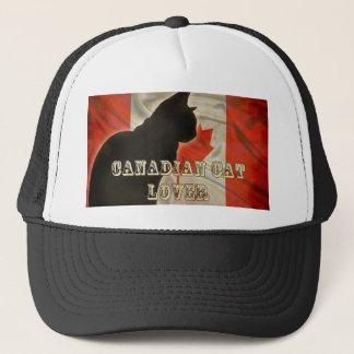 CANADIAN CAT LOVER TRUCKER HAT
