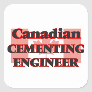 Canadian Cementing Engineer Square Sticker