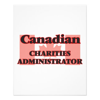Canadian Charities Administrator 11.5 Cm X 14 Cm Flyer