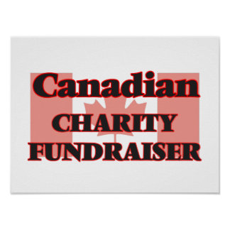 Canadian Charity Fundraiser Poster