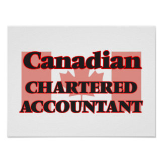 Canadian Chartered Accountant Poster