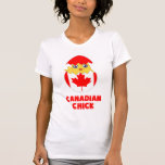 Canadian Chick, a Girl From Canada Tshirts