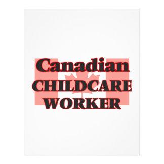 Canadian Childcare Worker 21.5 Cm X 28 Cm Flyer