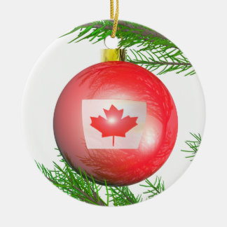 Canadian Christmas Tree Decoration