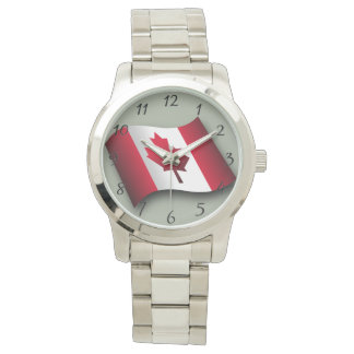 Canadian classic flag watch