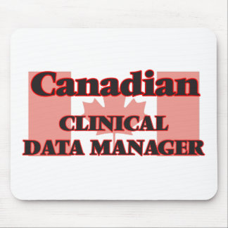 Canadian Clinical Data Manager Mouse Pad