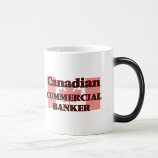 Canadian Commercial Banker Morphing Mug