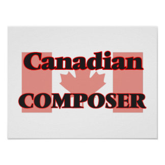 Canadian Composer Poster