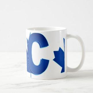 Canadian Conservatives Blue and White Logo Mug