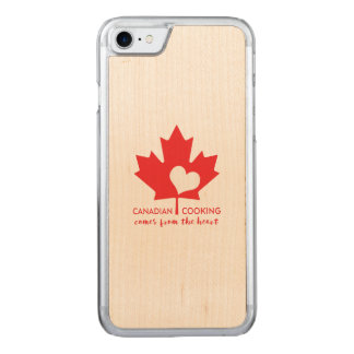 Canadian Cooking Comes from the Heart Carved iPhone 7 Case