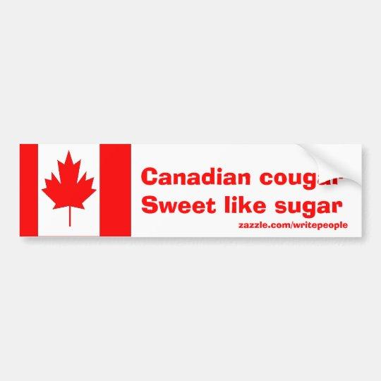 Canadian Cougar Bumper Sticker