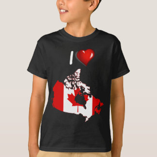 Canadian country flag T-Shirt
