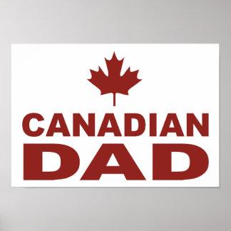 Canadian Dad Print