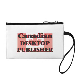Canadian Desktop Publisher Change Purse