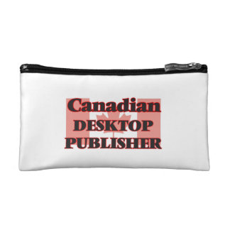 Canadian Desktop Publisher Makeup Bag