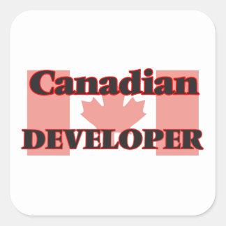 Canadian Developer Square Sticker