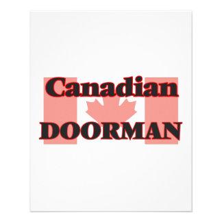 Canadian Doorman 11.5 Cm X 14 Cm Flyer