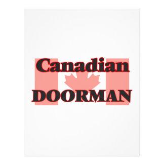 Canadian Doorman 21.5 Cm X 28 Cm Flyer