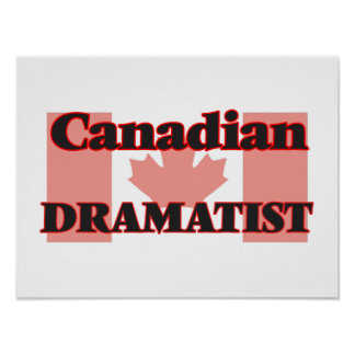 Canadian Dramatist Poster