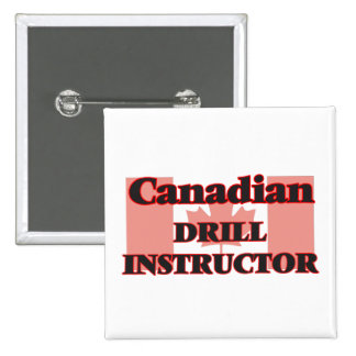 Canadian Drill Instructor 15 Cm Square Badge