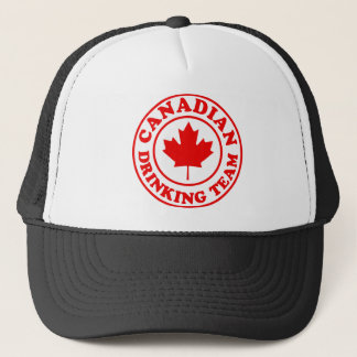 Canadian Drinking Team Trucker Hat