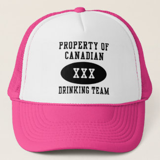 Canadian Drinking Team Trucker Hat