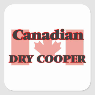 Canadian Dry Cooper Square Sticker
