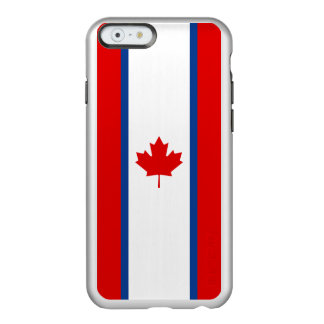 Canadian Duality Flag Silver iPhone Case Incipio Feather® Shine iPhone 6 Case