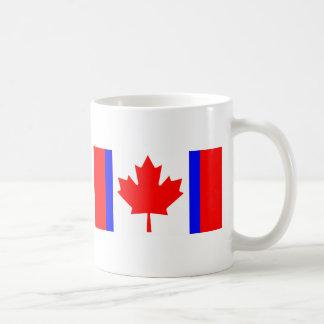 Canadian Duality Flag T-Shirts Coffee Mug
