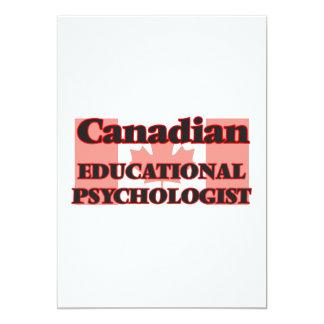 Canadian Educational Psychologist 13 Cm X 18 Cm Invitation Card