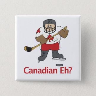 Canadian Eh? 15 Cm Square Badge