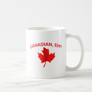 Canadian, eh? 2 basic white mug