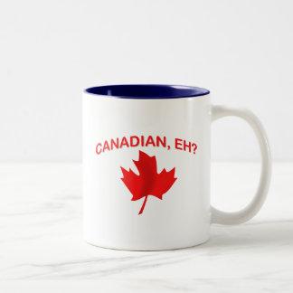 Canadian, eh? 2 Two-Tone mug