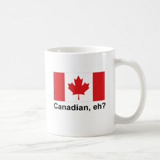 Canadian, eh? basic white mug