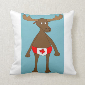Canadian, Eh? Moose Cushion