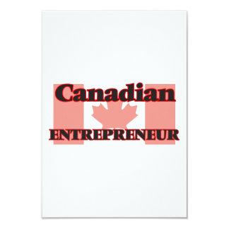 Canadian Entrepreneur 9 Cm X 13 Cm Invitation Card