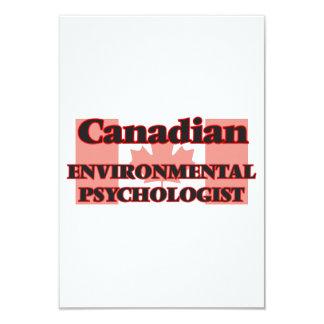 Canadian Environmental Psychologist 9 Cm X 13 Cm Invitation Card