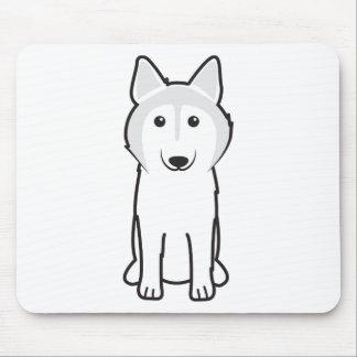 Canadian Eskimo Dog Cartoon Mouse Pad