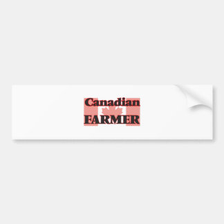 Canadian Farmer Bumper Sticker